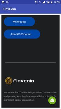 FinxCoin apk screenshot