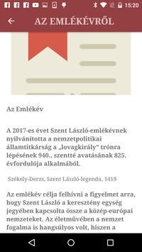 Szent László Emlékév screenshot 2