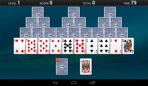 TriPeaks apk screenshot