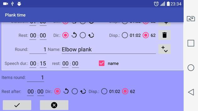 Plank time screenshot 3
