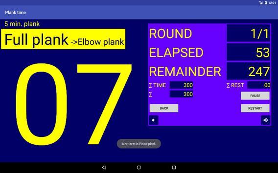 Plank time screenshot 4