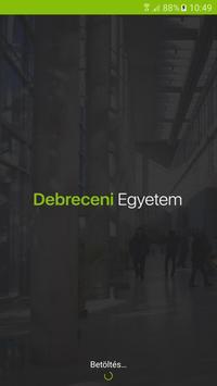 UniDeb Campus App poster