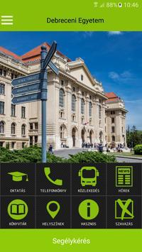 UniDeb Campus App apk screenshot