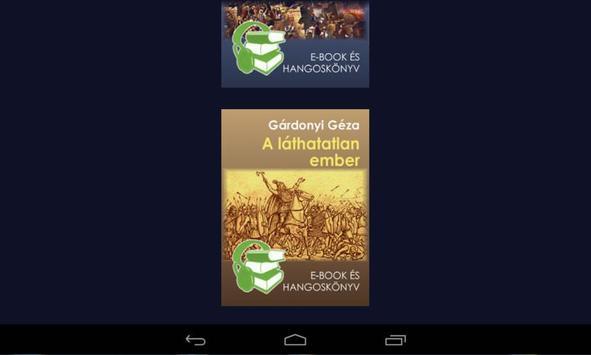 Egri csillagok hangoskönyv apk screenshot