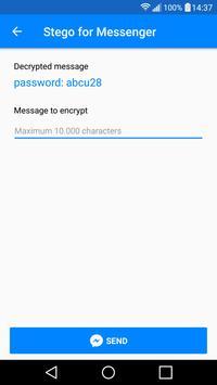 Stego for Messenger screenshot 2