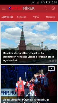 Orosz Hírek 1.0.0 screenshot 1