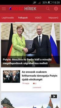 Orosz Hírek 1.0.0 screenshot 2