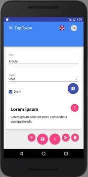 TopFlavon Network apk screenshot