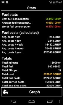 Vehicle Admin (fuel logger) screenshot 7