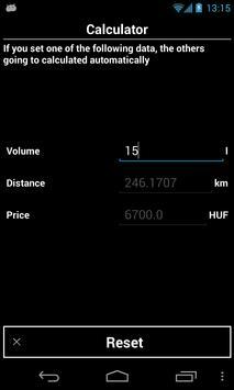 Vehicle Admin (fuel logger) screenshot 5