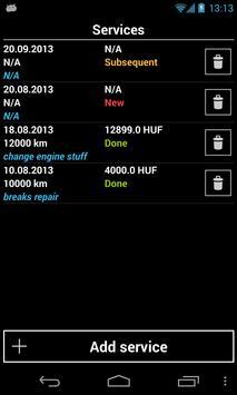 Vehicle Admin (fuel logger) screenshot 6
