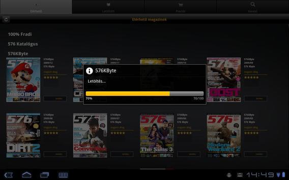 Dimag Reader screenshot 2