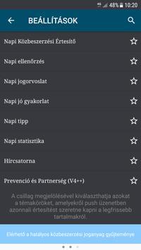 NAPI KÖZBESZERZÉS screenshot 5
