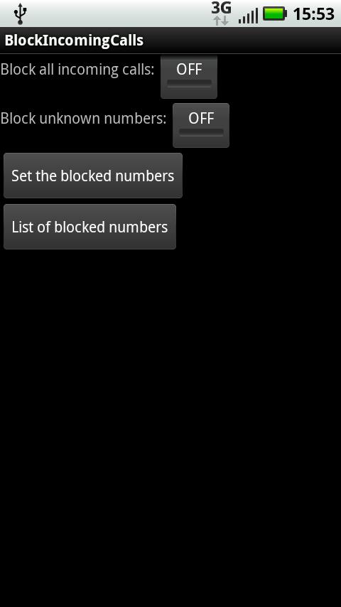 Block incoming calls for Android - APK Download