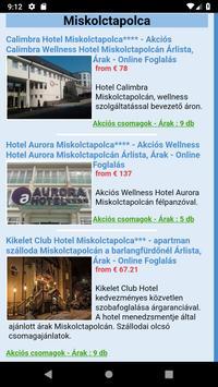 Miskolctapolcai szállodák, wellness hotelek screenshot 2