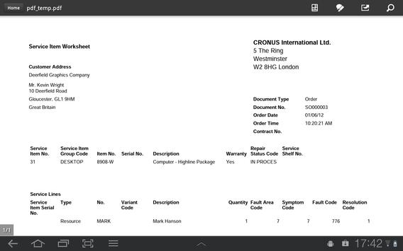 MobileNAV screenshot 14