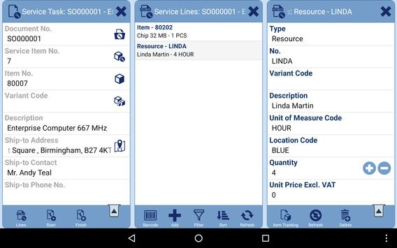 MobileNAV apk screenshot
