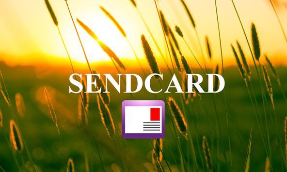 Sendcard-képeslap poster