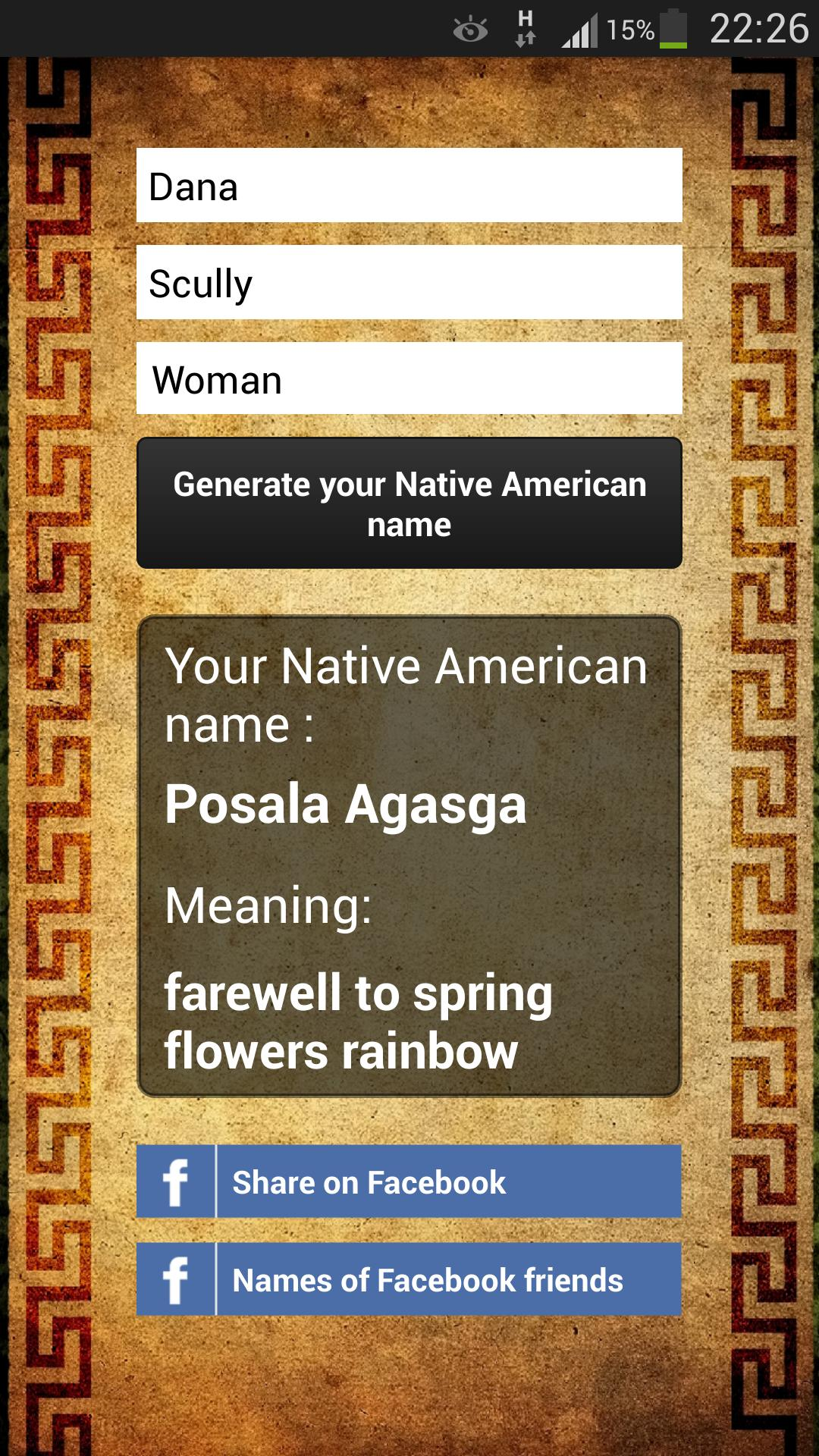 Native American Name generator for Android - APK Download