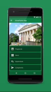 Józsefváros App poster
