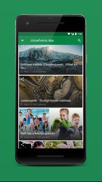 Józsefváros App screenshot 1