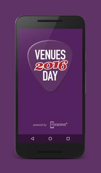 Venues Day 2016 poster
