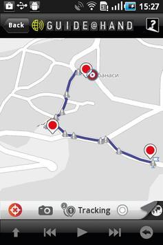 Veliko Tarnovo GUIDE@HAND apk screenshot
