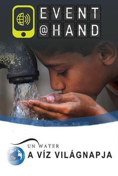 Víz Világnapja EVENT@HAND poster