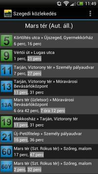 Szegedi közlekedés screenshot 5