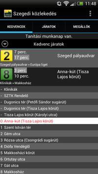 Szegedi közlekedés screenshot 1