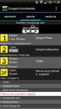 Szegedi közlekedés screenshot 2