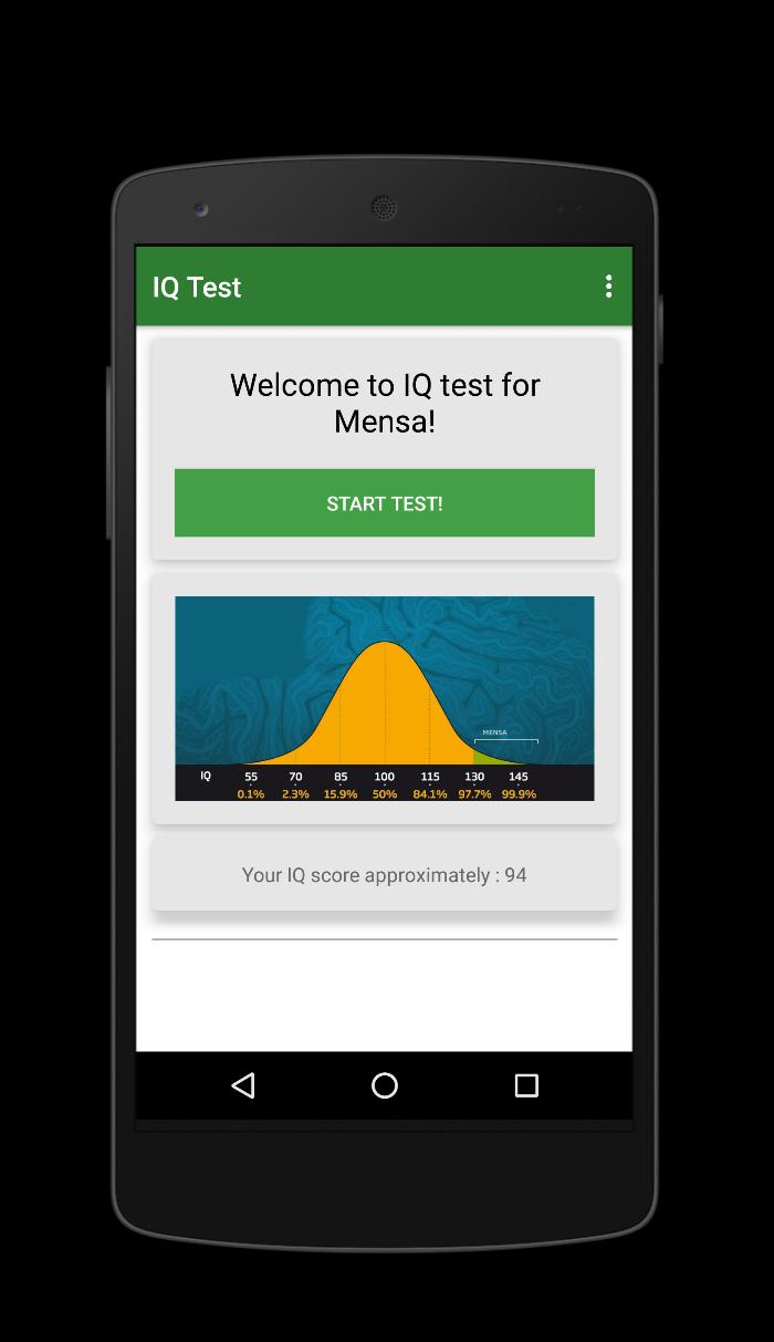 IQ Test for Mensa for Android - APK Download