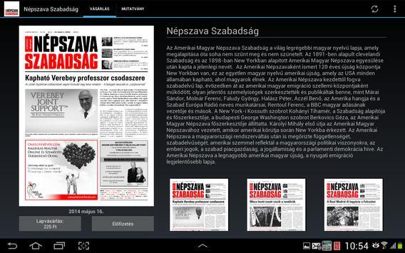 Népszava Szabadság screenshot 11