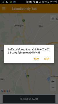 Szombathely Taxi screenshot 2