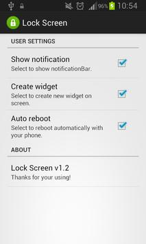 Lock Screen @Lock Screen apk screenshot