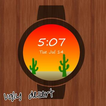 WobbleWatches Ugly Desert poster