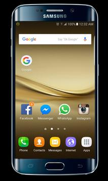 Mate 8 launcher theme poster