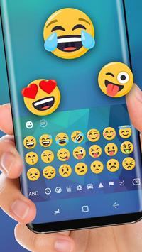 Classic Blue Keyboard Theme for Huawei Mate apk screenshot