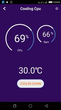 Cooling CPU for Huawei apk screenshot