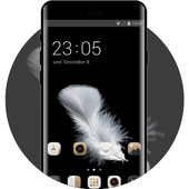 Theme for Huawei Y6 (2017): Black & Gold icon