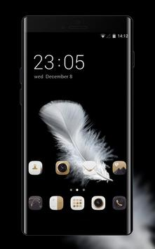 Theme for Huawei Y6 (2017): Black & Gold poster