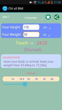 Your BMI poster