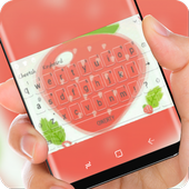 Huge strawberry keyboard icon