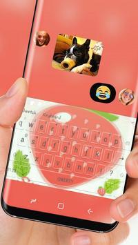 Huge strawberry keyboard apk screenshot