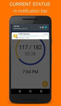 Stamina Alert for FFRK captura de pantalla 2