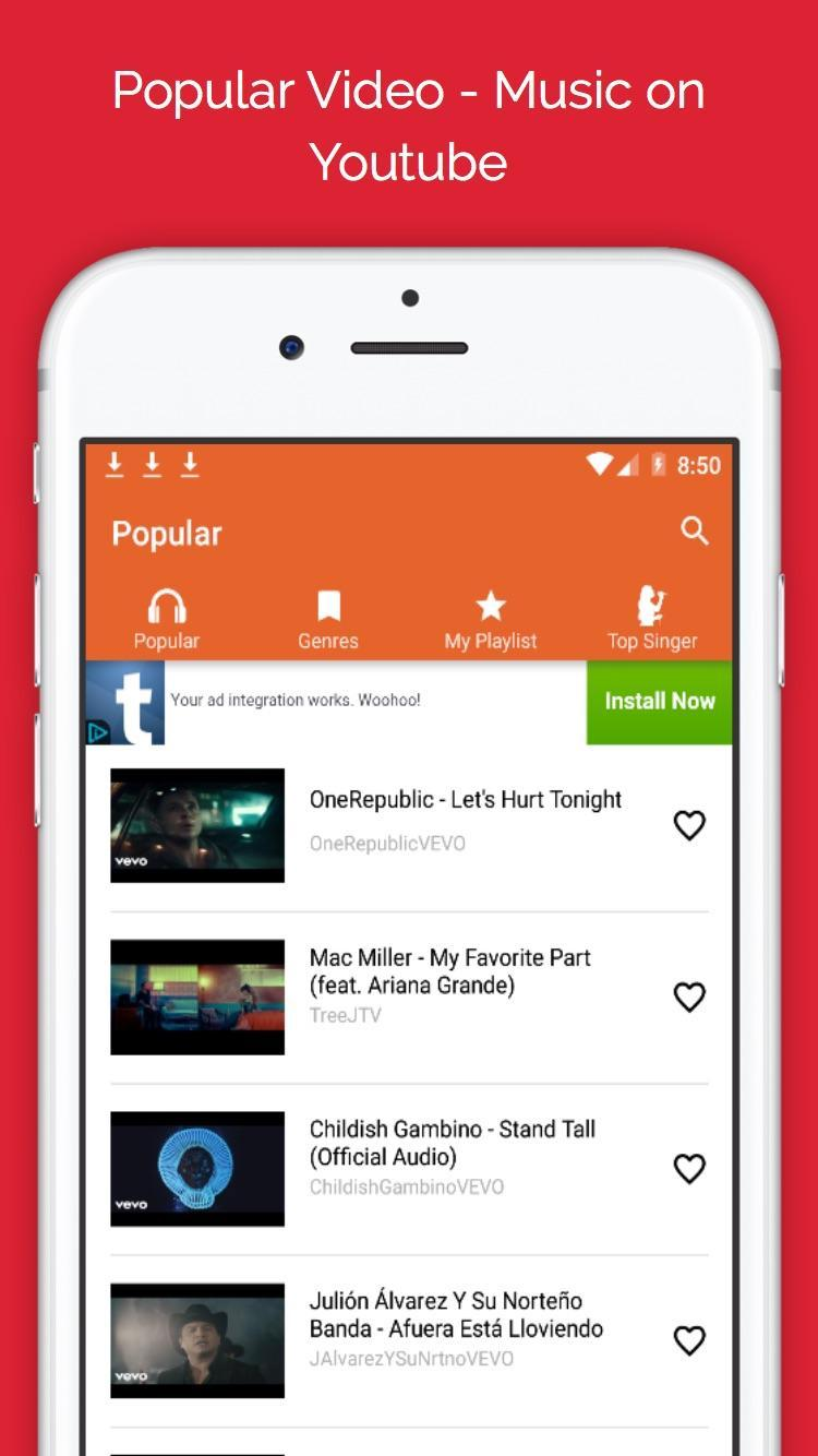 Free Music Player for Youtube for Android - APK Download