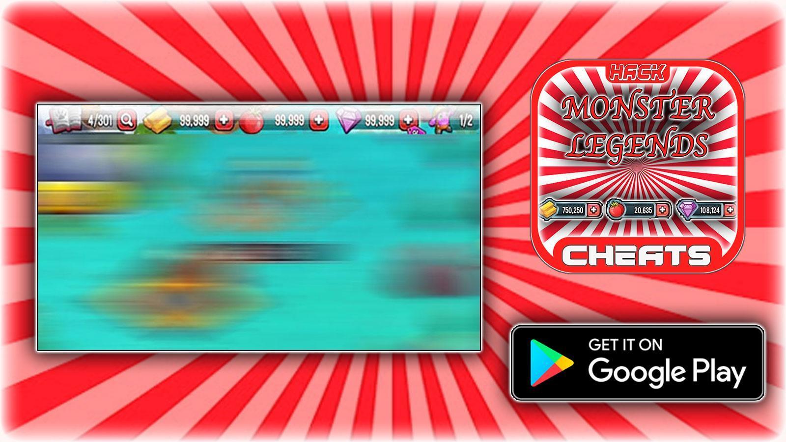 Cheats For Monster Legends Hack Joke App Prank For Android Apk Download
