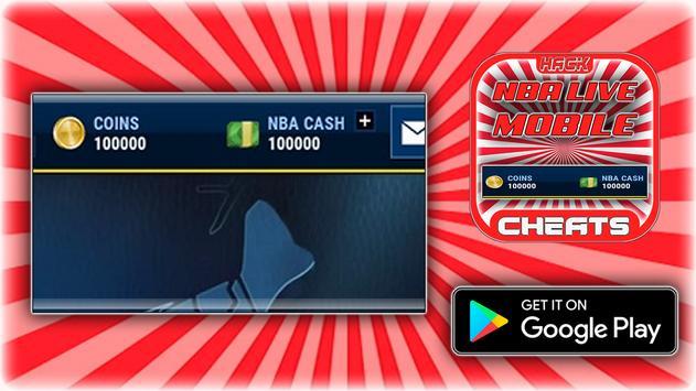 Cheats For NBA Live Mobile Hack Joke App - Prank! screenshot 2
