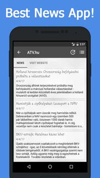 News Hungary apk screenshot