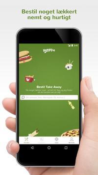 Hungry.dk - Bestil Takeaway poster
